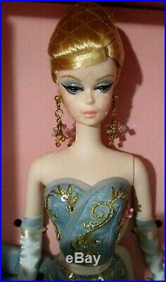 10 Years Tribute Silkstone Barbie NRFB -Gold Label Fashion Model Collection
