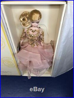 12 Mattel Barbie Doll Silkstone Blush & Gold Cocktail Dress Fashion Mint NRFB