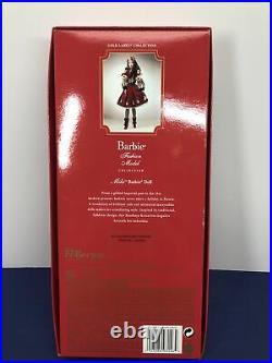 12 Mattel Barbie Doll Silkstone Fashion Model Russian Mila Barbie Gold COA MWB