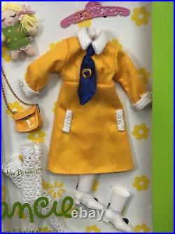 12 Mattel Barbie Doll Silkstone Francie Nighty Brights Gold Label Repro NRFB