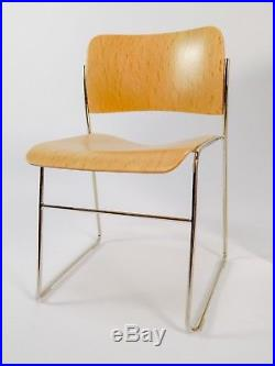 16 Vitra Design Museum Miniature Replica Howe 40/4 side chair