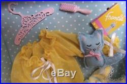 1960 Inspired Gold Label Barbie Silkstone Francie Fairchild Doll Fashion Giftset