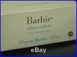 2000 Silkstone LINGERIE Barbie #3 Brunette Fashion NRFB