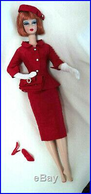 2001 Loose Barbie Silkstone Provencale Doll In Red Ooak Outfit