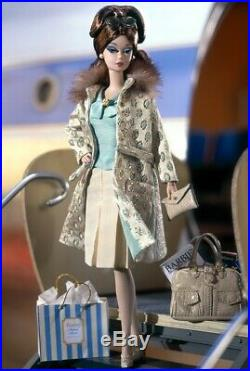 2002 Barbie Silkstone Continental Holiday Giftset Fashion Model Collection