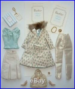 2002 Silkstone Barbie Doll Continental Giftset Fashion