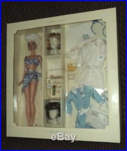 2003 Barbie Silkstone Spa Getaway Gift Set In The Original Box