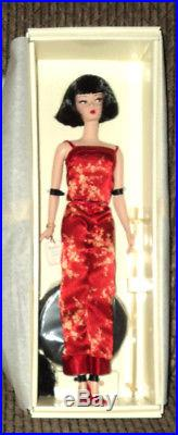 2004 Barbie Silkstone Gold Label Chinoiserie Red Midnight Nrfb