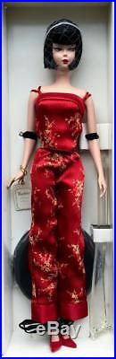 2004 Silkstone Chinoiserie Red Midnight BarbieGold LabelMintRare