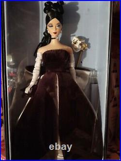 2005 Rare Barbie Convention Masquerade Black Hair Silkstone Vintage Face Doll