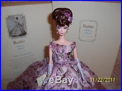 2005 Silkstone Violette Barbie Collector Doll Platinum Label J4254