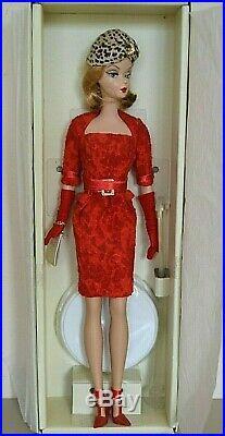 2007 Gold Label Silkstone BFMC RED HOT REVIEWS Barbie Missing Cape & Handbag