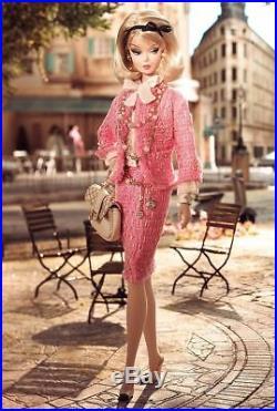 2007 NRFB Barbie Silkstone Preferably Pink BFMC Gold Label Doll Robert Best