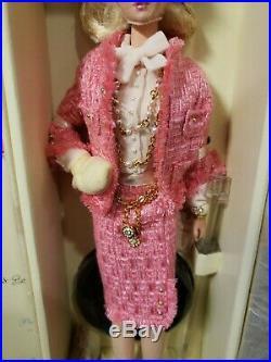 2007 Preferably Pink Silkstone Barbie Doll Gold Label Mattel M4969 Nrfb