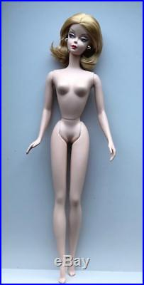 2007 Red Hot Reviews Silkstone Barbie Nude Restyled Hair DollGold LabelMint