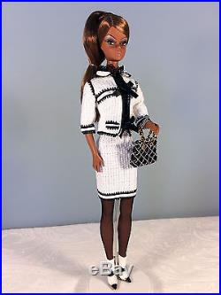 2008 Toujours Couture Barbie Doll AA Barbie Fashion Model Gold Label Silkstone