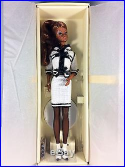 2008 Toujours Couture Barbie Doll BFMC Gold Label Silkstone Mint NRFB