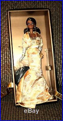 2009 Barbie Convention Silkstone Harder To Find Black Golden Gala Le 1200