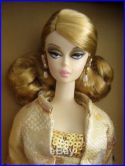 2009 Convention Silkstone Golden Gala Barbie NRFB