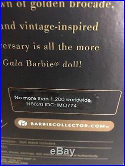 2009 GOLDEN GALA Silkstone Barbie 50th Anniversary Convention NRFB LE 1200