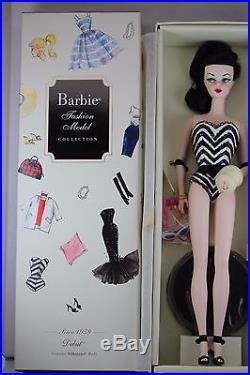 2009 Paris Debut Brunette/raven Silkstone Barbiebfmcrobert Best Vhtfnrfb