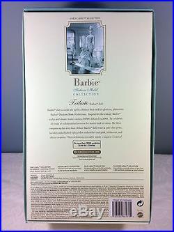 2010 10 Year Tribute Barbie Doll BFMC Gold Label Silkstone Mint NRFB