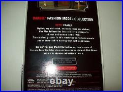 2010 Betty Draper Mad Men Silkstone Gold Label Barbie Doll Mattel T2153 Nrfb