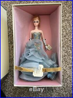 2010 Silkstone Barbie Fashion Model 10 Years Tribute Doll Gold Label NRFB