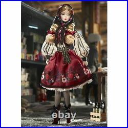 2011 Rare Mila Silkstone Barbie Doll Nrfb Gold Label T7672