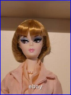 2012 Afternoon Suit Silkstone Barbie Doll With Shipper Nrfb Gold Label W3503
