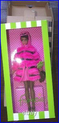 2012 BFC EXCLUSIVE Silkstone Fuchsia N Fur Francie Barbie