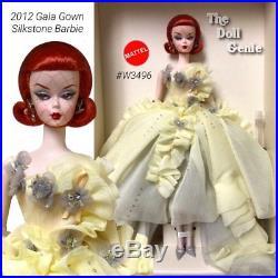 2012 BFMC Gala Gown Silkstone Barbie W3496 New, NRFB