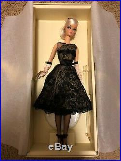2012 Mattel Bfmc Silkstone Cocktail Dress Barbie Doll Gold Label X8253 Nrfb