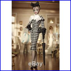 2012 NRFB Barbie Silkstone Walking Suit BFMC Gold Label Doll Robert Best W3424