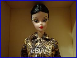 2013 Mattel Barbie Fashion Model Collection-luciana Doll (new) Gold Label
