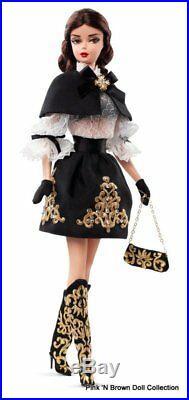 2014 DULCISSIMA Silkstone Barbie Dressed Doll NRFB Brunette Hair. No Shipper