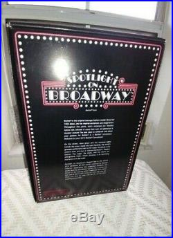 2014 NRFB Barbie Spotlight on Broadway Platinum Label Convention Doll box Signed