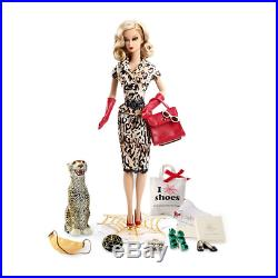 2016 NRFB Barbie Charlotte Olympia Carlyle Nuera Gold Label Doll Box tissued