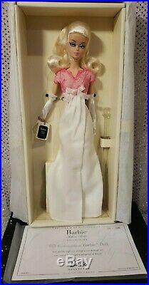 2016 National Us Convention Silkstone Barbie Doll Platinum Mattel Dkn08 Nrfb