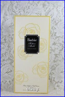 2016 Silkstone Blue Chiffon Ball Gown Barbie Fashion Model Gold Label