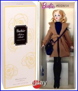 2016 Silkstone Classic Camel Trench Coat Barbie Doll DGW54 NEW NRFB