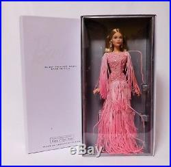 2017 BLUSH FRINGED GOWN BARBIE Platinum Lbl LE 999 BFC Excl DWF52 NRFB IN HAND