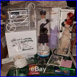 2017 GAW Grant a wish Barbie complete package Scottish Highlands Adventure