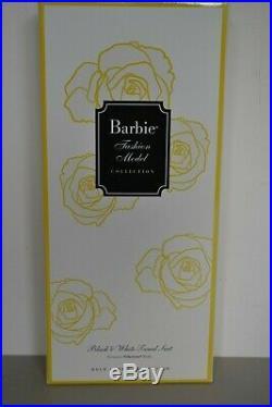 2017 Gold Label Silkstone BFMC BLACK & WHITE TWEED SUIT Barbie NEW