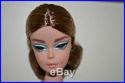 2017 Gold Label Silkstone BFMC BLUE CHIFFON BALL GOWN Barbie NEW