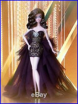 2018 BROWN & GOLD LOUIS VUITTON BARBIE SILKSTONE Fashion Doll Collector BFMC