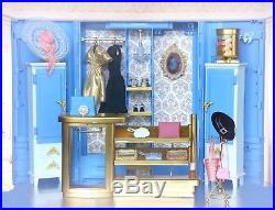 2018 Barbie Silkstone Ave Shopping Fashion Boutique Diorama Collector BFMC