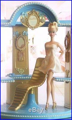 2018 Barbie Totally Hair Silkstone Tribute Salon Diorama Collector BFMC
