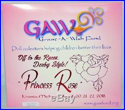 2018 GAW Barbie Convention HOSTESS ONLY PRINCESS ROSE DERBY Excl 16 Scale NEW