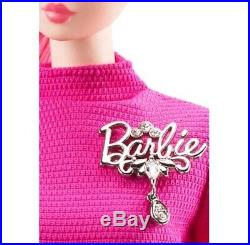 2018 PROUDLY PINK Silkstone Barbie 60th Anniversary NEW IN TISSUE GUARANTEED